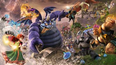 Du Dragon Quest à la pelle pour la Nintendo Switch