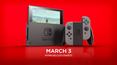 La campagne marketing de la Switch est lancée