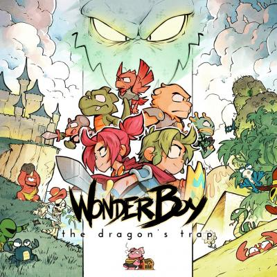 La part féminine de Wonder Boy : The Dragon