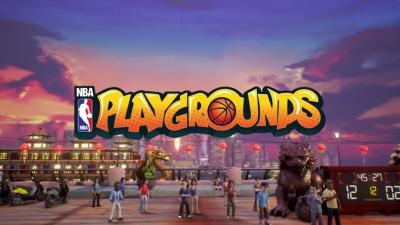 NBA Playgrounds dribble jusqu