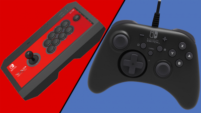 Hori sort son arsenal de manettes Switch