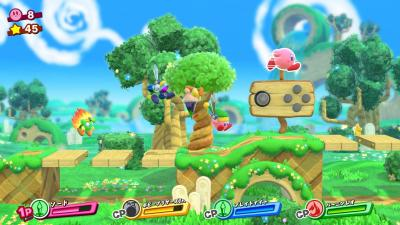 Kirby Star Allies nous montre ses fusions
