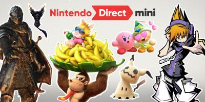 Récapitulatif du Nintendo Direct Mini