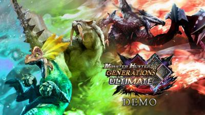 Une démo pour Monster Hunter Generations Ultimate Switch