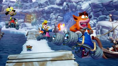 Le remake de Crash Team Racing sur Switch l