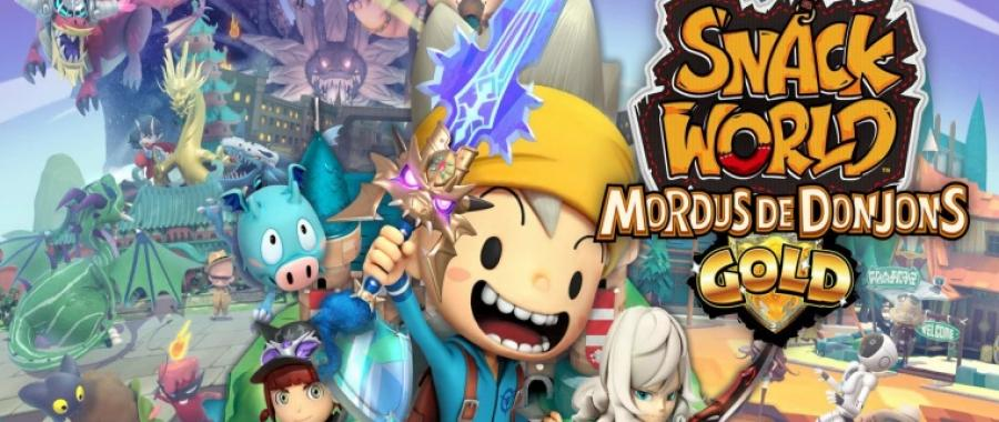 Snack World arrive enfin en Europe dans une version GOLD